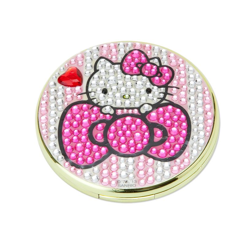 Hello Kitty Glitter Stone double mirror Sanrio online shop - official mail order site