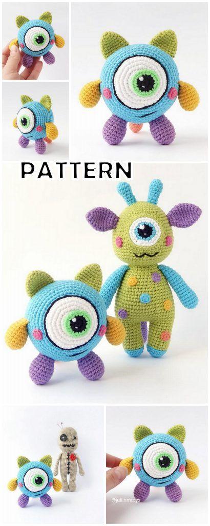 20 Top Best Amigurumi Doll and Animal Crochet Patterns - Amigurumi #knittedtoys
