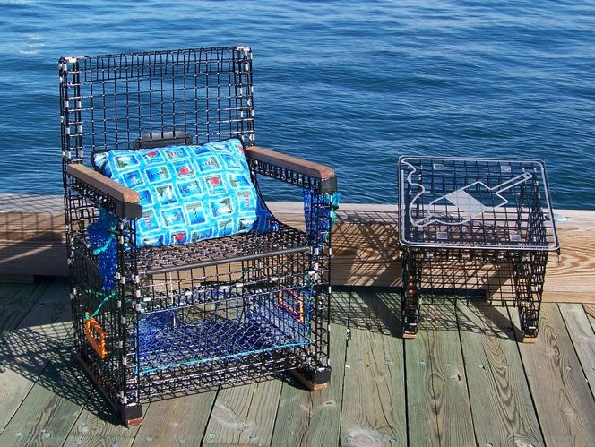 Lobster Trap Furniture Awesome