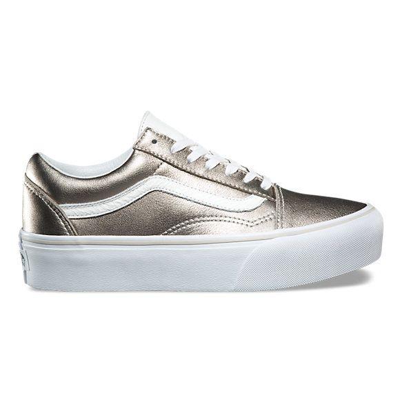 Old Skool Platform Shop Shoes At Vans Vans Old Skool Women Platform Shoes Sneakers