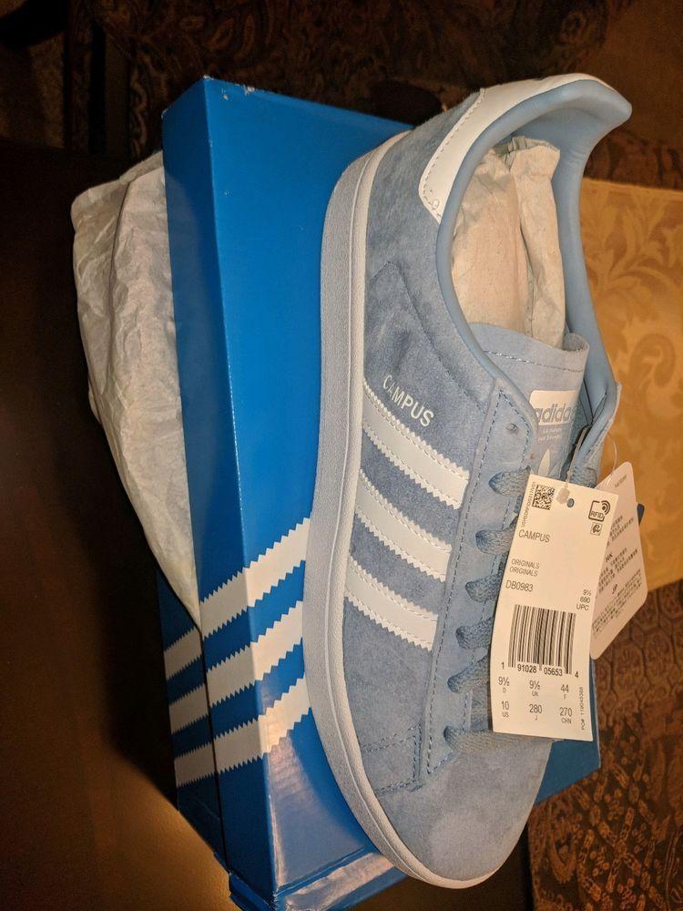 Adidas Campus Originals Ash Blue White