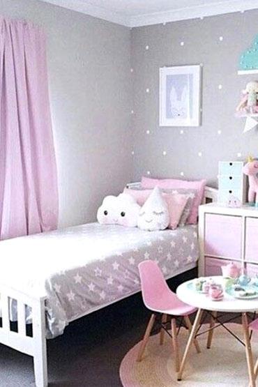 غرف نوم البنات وغرف البنات بألوان رقيقة وتصاميم ديكور فخمة ديكورات أرابيا Girl Room Girls Bedroom Furniture Luxury Decor