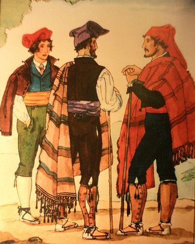 Indumentaria Tradicional De Pages Tradicional Dibujos Traje Tradicional
