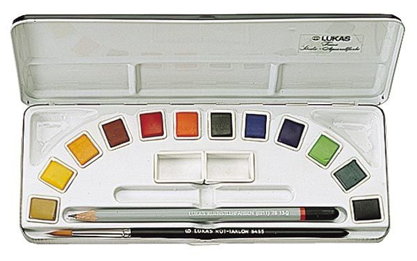 Lukas Aquarell Studio Watercolor Sets Student Watercolor Paint