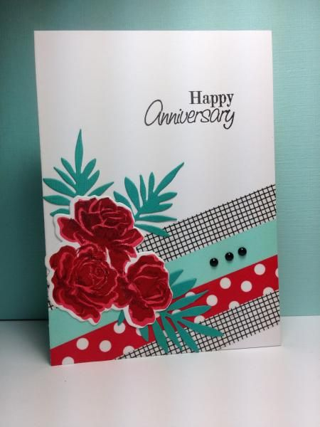 The Sweet Life, PTI, washi tape, by beesmom - Cards and Paper Crafts at Splitcoaststampers