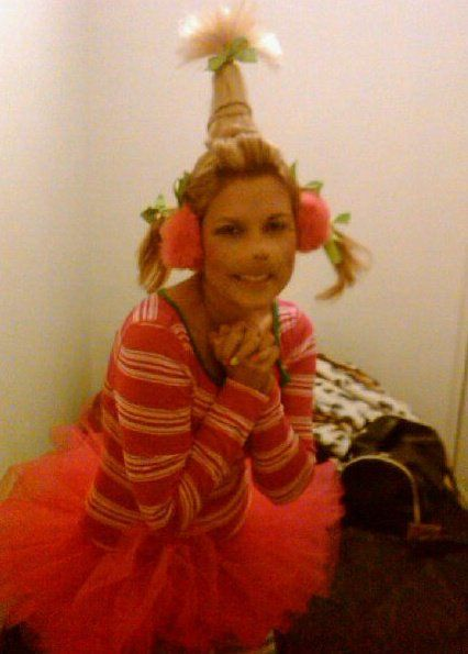 Halloween..Cindy lou who! DIY I put all the pieces ...
