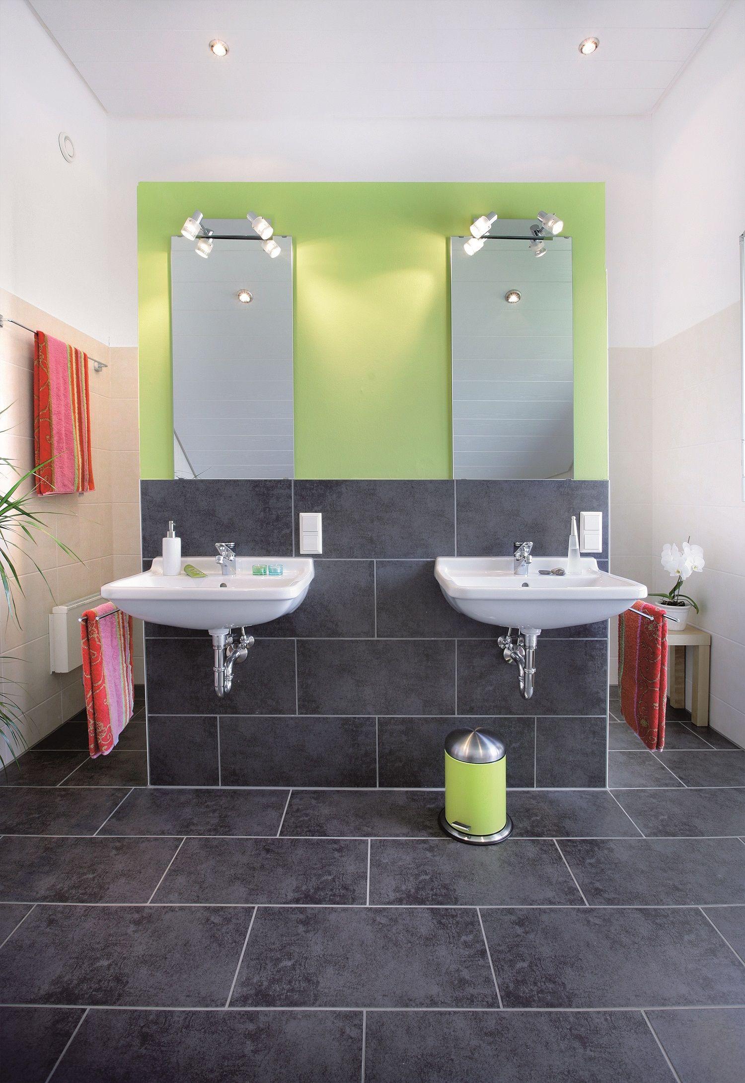 eine freistehende wand im bad kann die dusche, toilette und den, Moderne deko