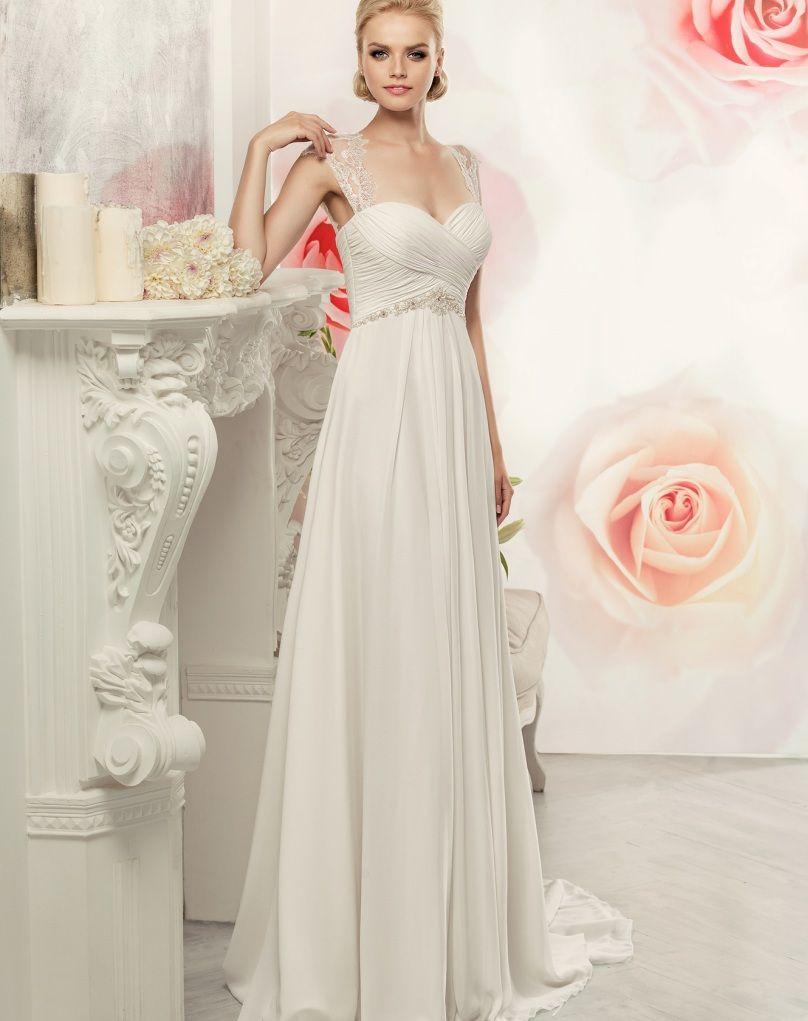 Beauty ALine Beach Boho Lace Maternity Wedding Dress