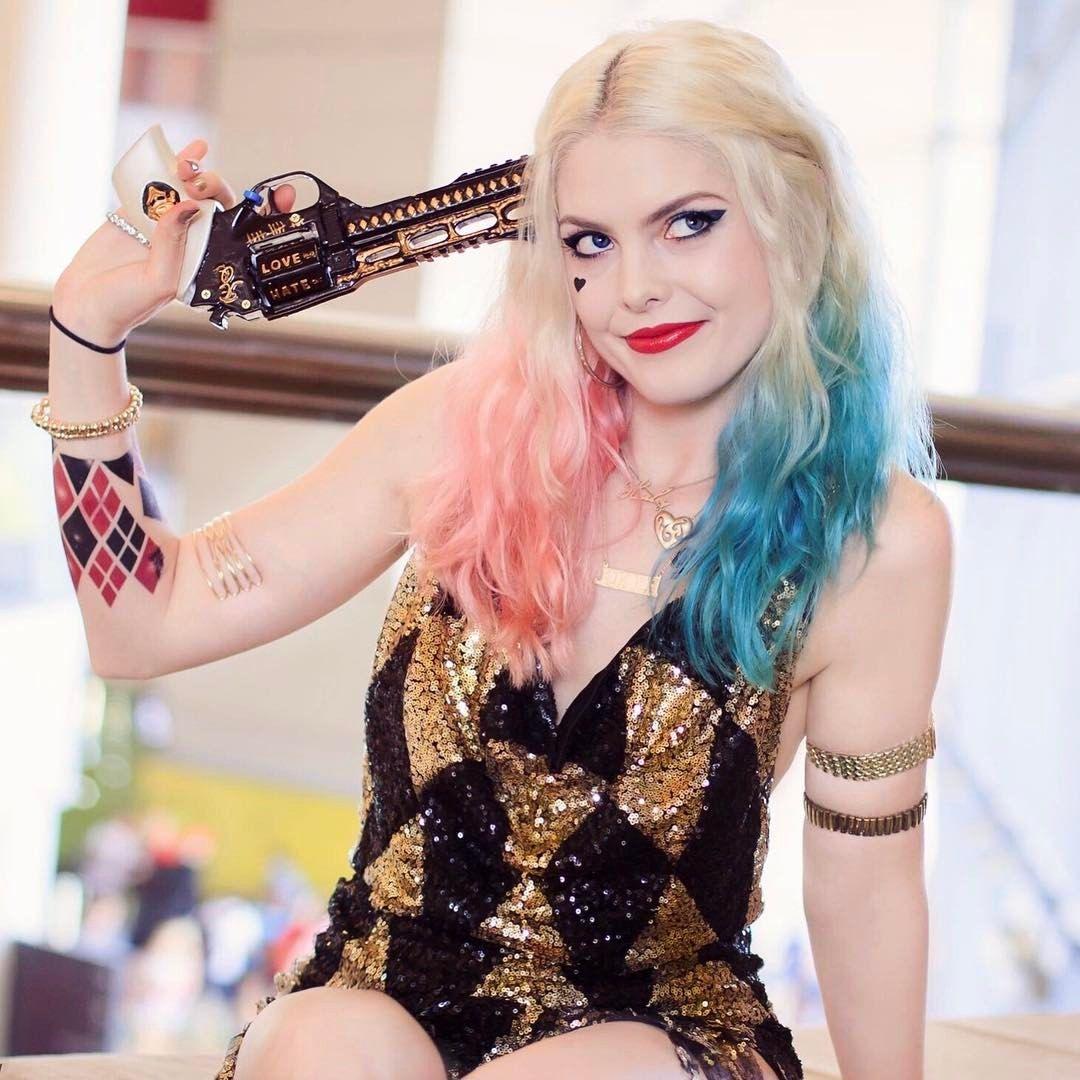 Pin by Carolyn Marie on C05p/@Y | Laura gilbert, Harley quinn, Harley quinn cosplay