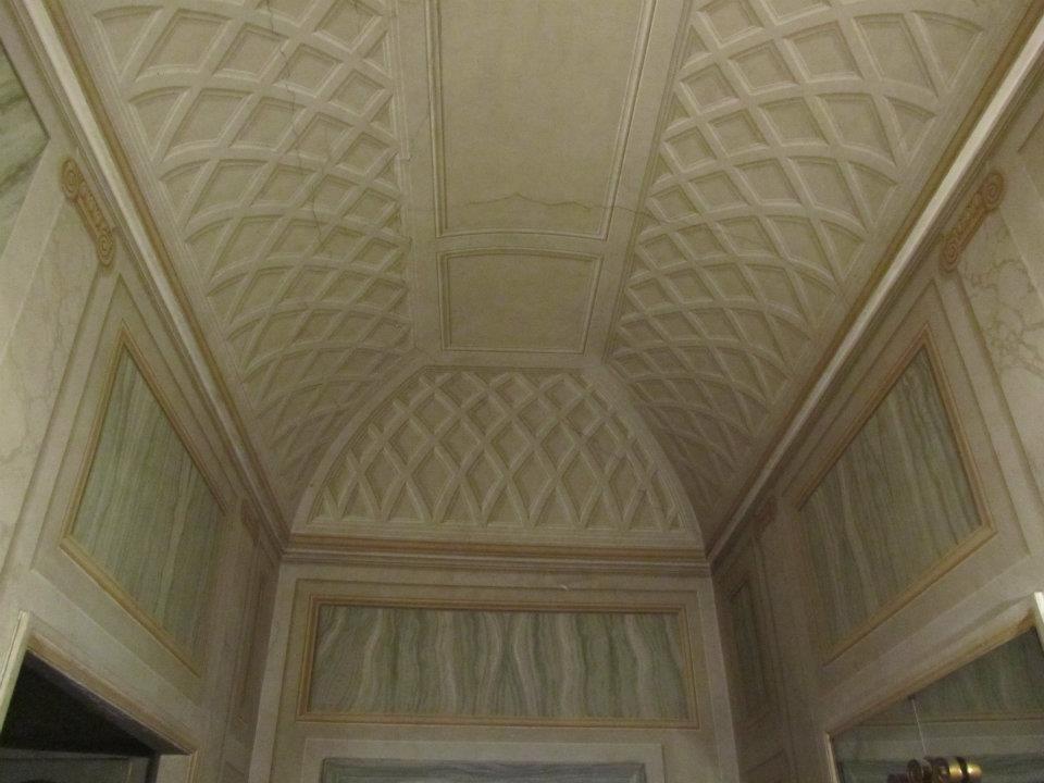 Trompe L Oeil Ceiling Mural Painting
