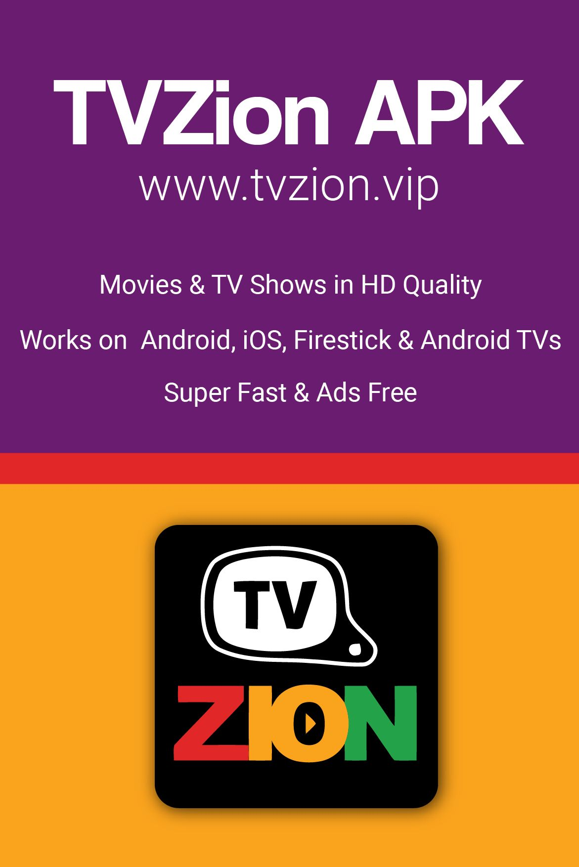 You can install the application on Android, iOS, Firestick