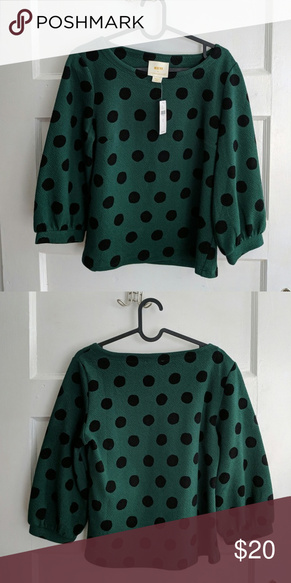 07e6cacb9e9fb Maeve by Anthropologie size S blouse Never worn