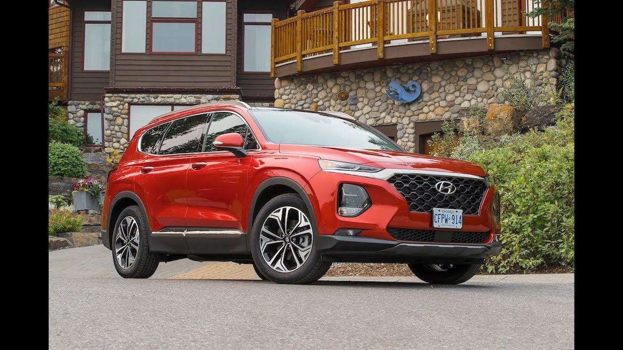 NEW 2019 Hyundai Santa Fe Review (med bilder)
