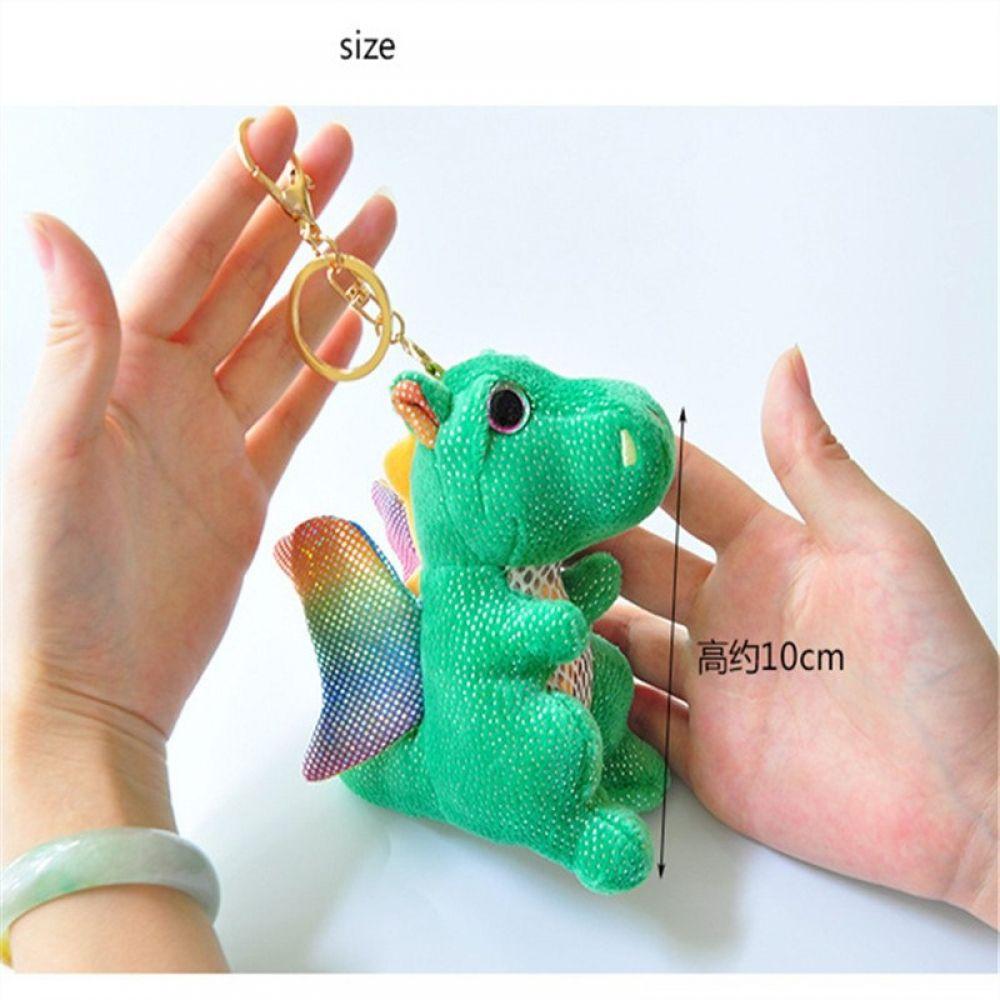 9Cm key chain toys plush stuffed animal owl toy small pendant dolls party gift