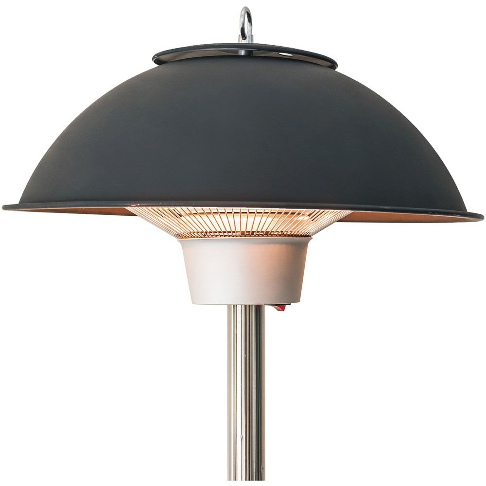 Hanover Electric Carbon Infrared Heat Lamp With Built In Table Stand Black Han1011ic Blk Heat Lamps Outdoor Table Lamps Lamp