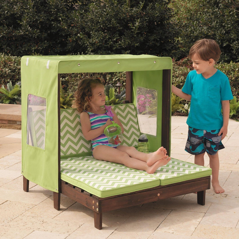 Terrific Amazon Com Kidkraft Outdoor Double Chaise Lounge Chair With Uwap Interior Chair Design Uwaporg