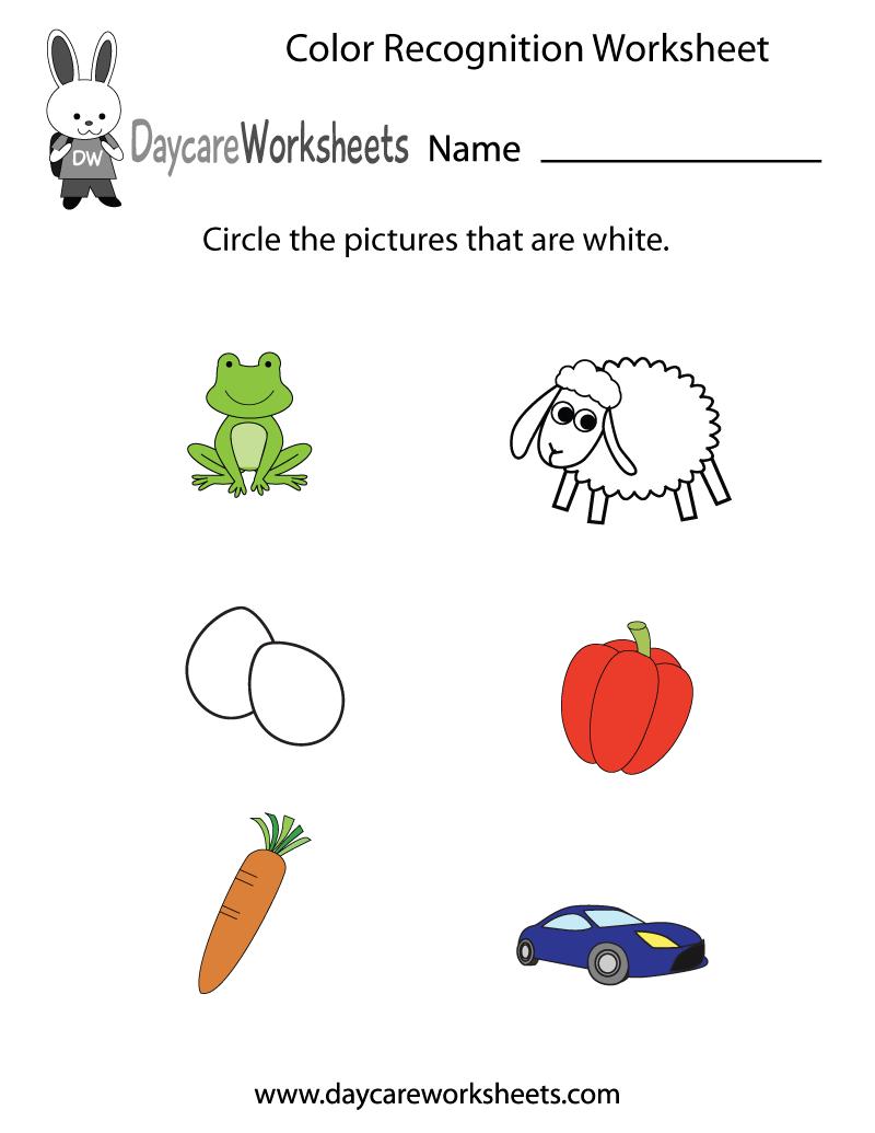 Free Preschool Color Recognition Worksheet Color Worksheets For Preschool Preschool Colors Free Math Printables [ 1035 x 800 Pixel ]