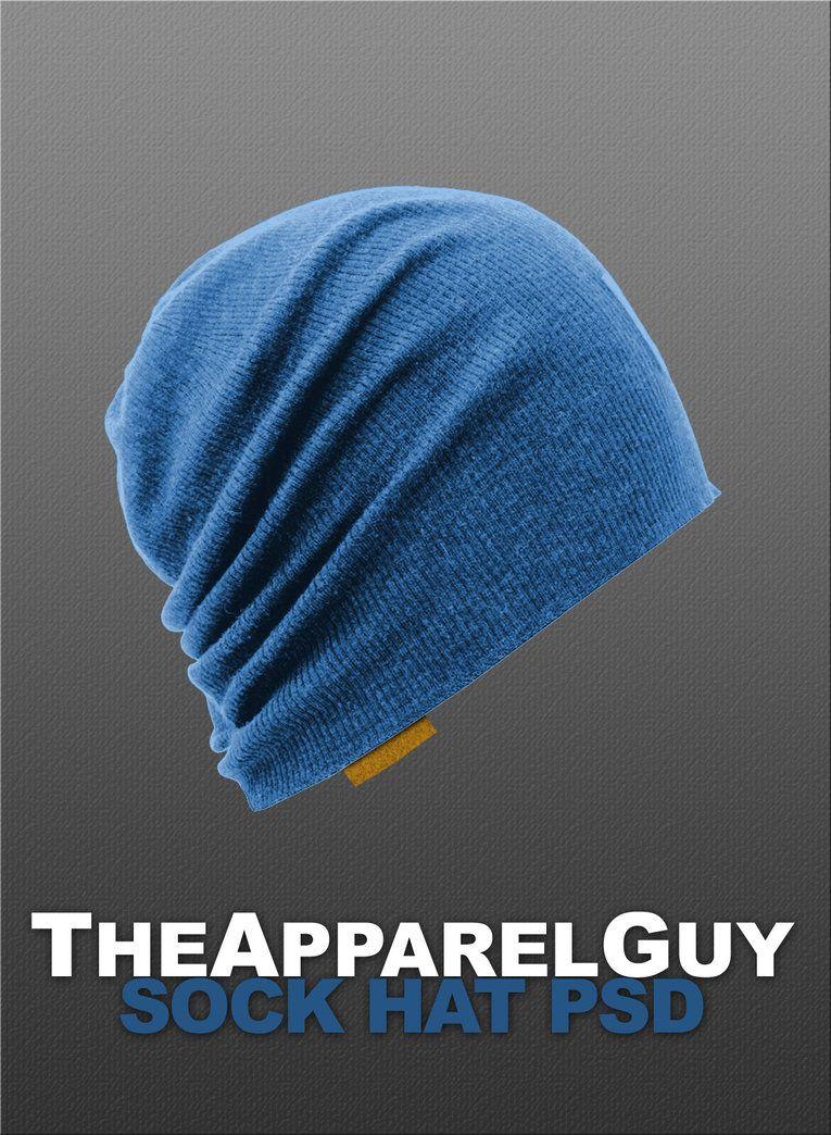 Download Sock Hat Psd Hats Clothing Templates Socks