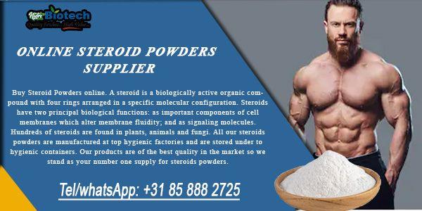 Online Steroid Powders Supplier - BioTechnutripharma in 2020 Steroids Cell membrane Molecular