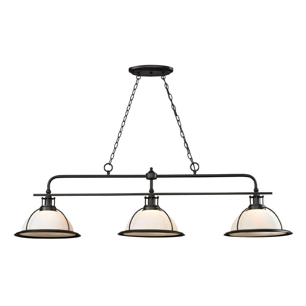 Oil Rubbed Bronze Kitchen island Lighting - Small Kitchen Pantry ...