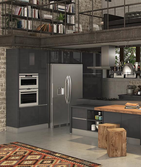 Cuisine Matera Ixina Cuisine Cuisines Ixina Ixinafrance Kitchen Interiordesign Design Refrigerateur Kitchen Decor Kitchen Kitchen Cabinets