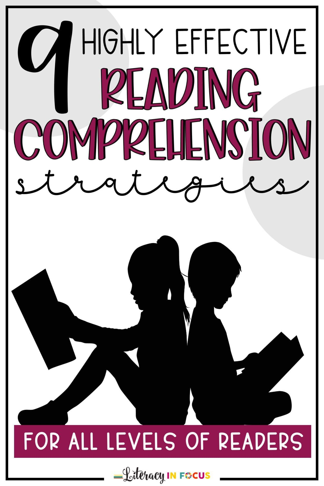 9 Highly Effective Reading Comprehension Strategies For All Levels Of Readers Reading Comprehension Reading Comprehension Strategies Reciprocal Teaching [ 1898 x 1265 Pixel ]