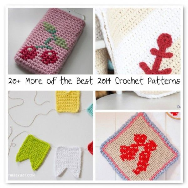 20+ More of the Best 2014 Crochet Patterns | Pinterest