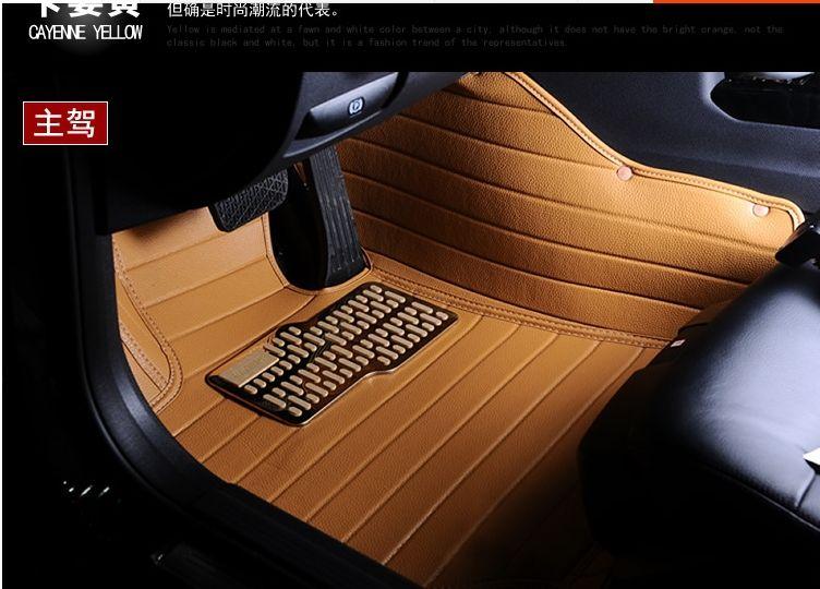 Custom Fit Car Floor Mats For Land Rover Discovery 3 4 2 Sport Range Rover Sport Evoque 3d Car Styling Carpet Liner Fit Car Car Floor Mats Interior Accessories