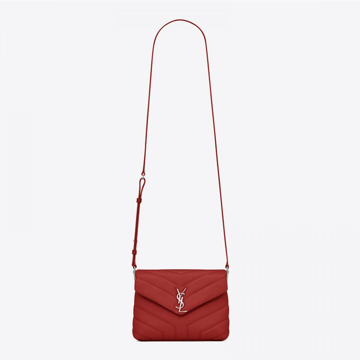 196ea06892 Saint Laurent Toy Loulou Strap Bag In