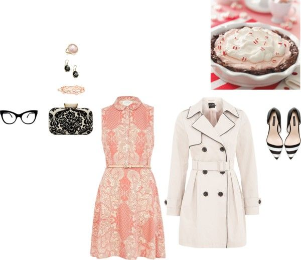 """Peppermint Brownie"" by auroristar on Polyvore"