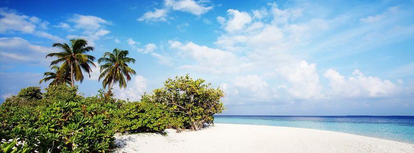 Nature Beach Facebook Cover