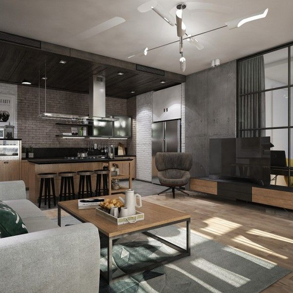 Studio Apartments For Young Couples Interior Design Ideas