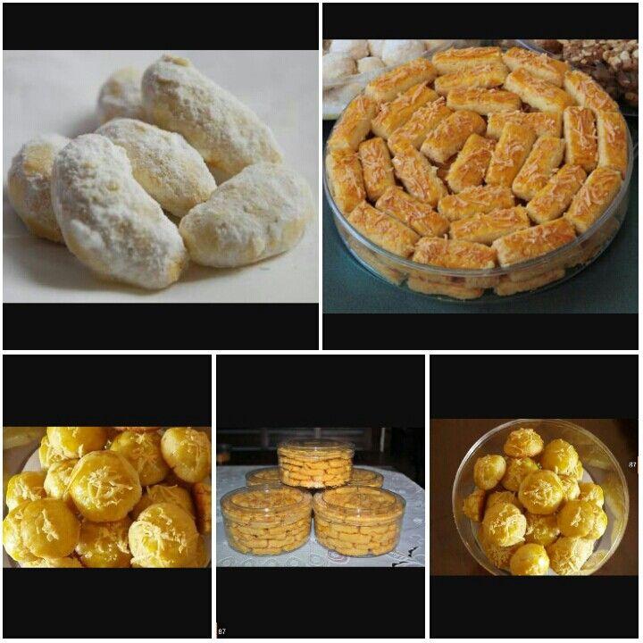 Aneka Kue Lebaran Kue Salju Castangle Nastar Bembeng Dll Only 50k Free Ongkir Khusus Area Makassar Buat Lebaran Makin Special Food Breakfast Muffin