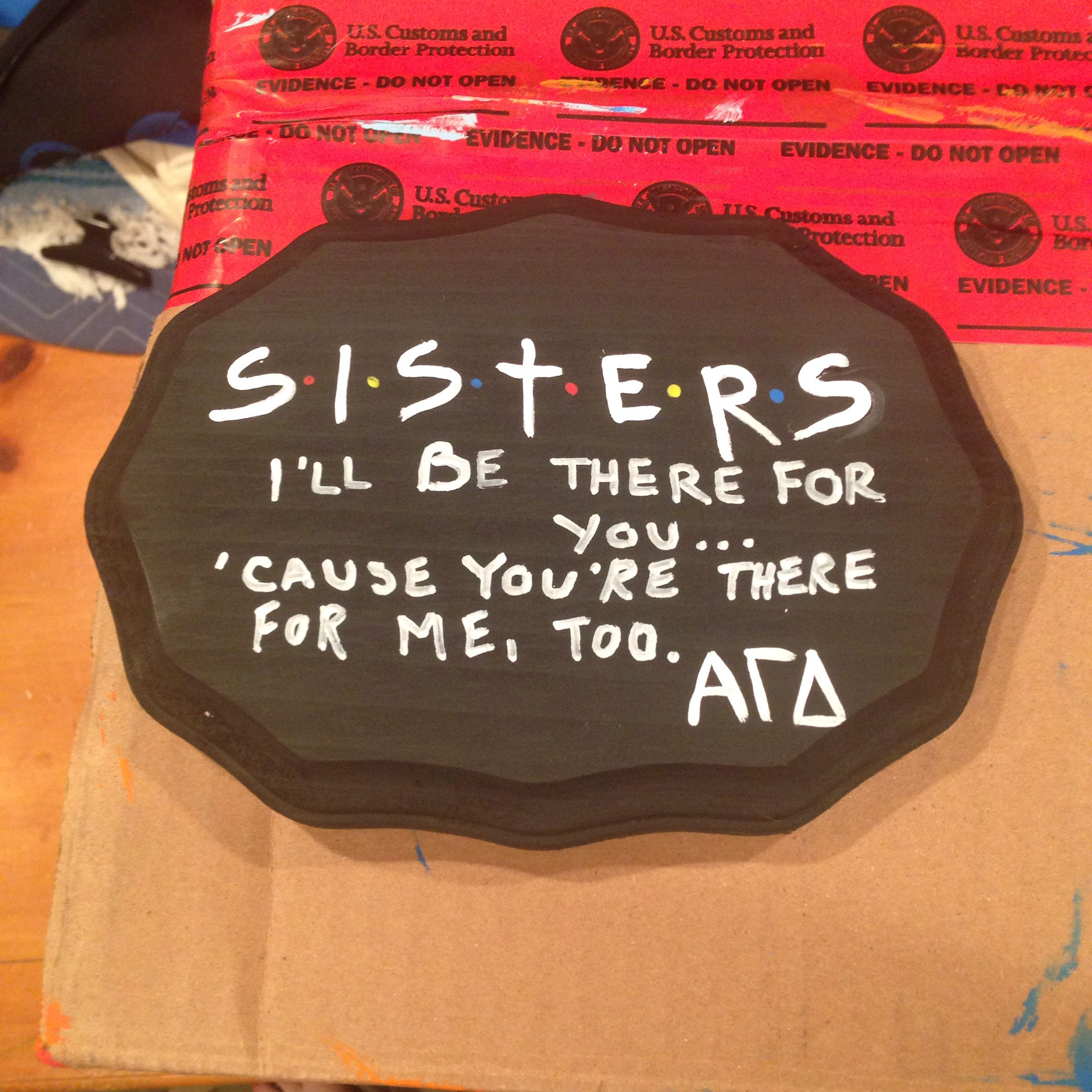 Sorority Crafts That Are Beautiful Alpha Gamma Delta With Images