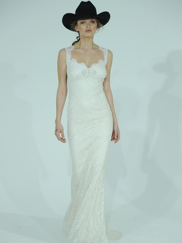Claire Pettibone\'s Spring Wedding Dresses Take Us Back to the Wild ...