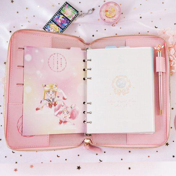 NEW 2019 Exclusive Original Sailor Moon Pink 'Wide A6