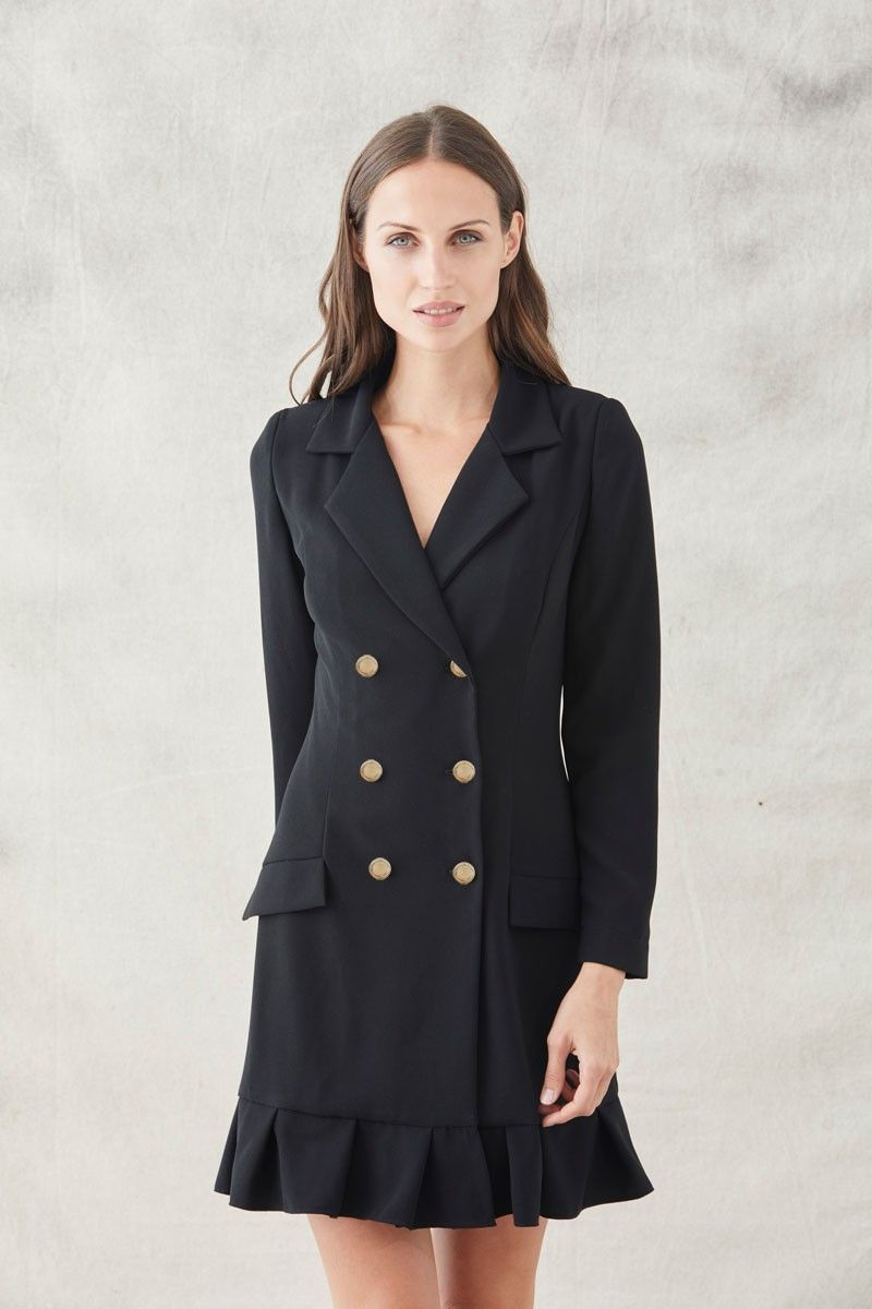 Comprar vestido corto manga larga