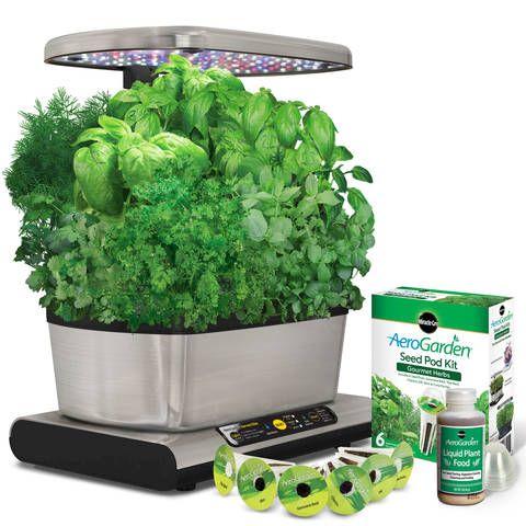 Product Tour Herb Seeds Indoor Vegetable Gardening 400 x 300