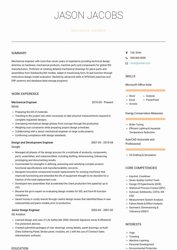 cool cv resume template download collection engineering