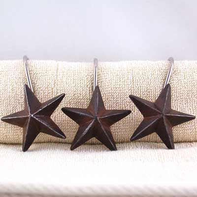 Texas Star Shower Curtain Hooks Rustic Shower Curtains Western Shower Curtain Texas Star