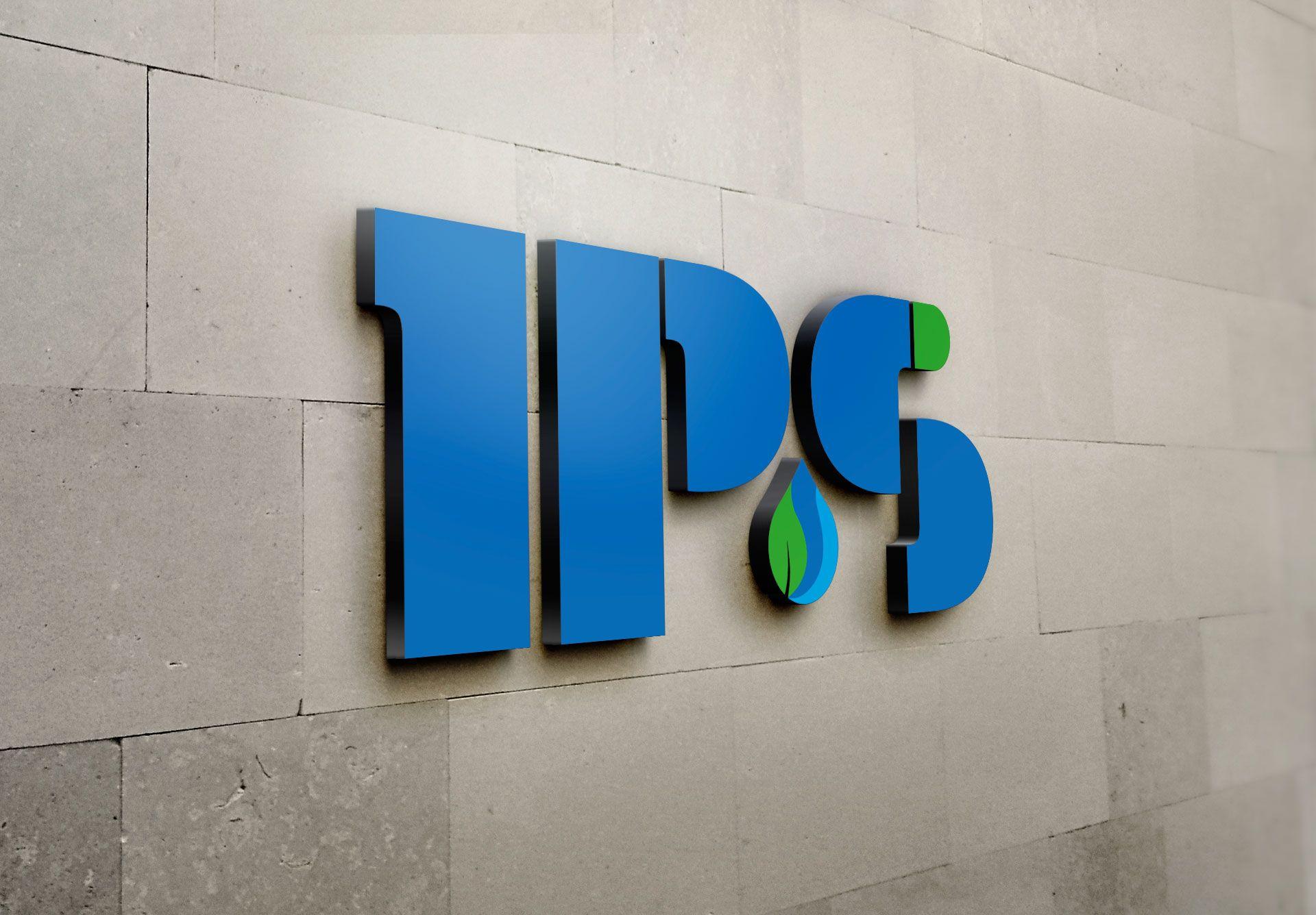 Logo IPS s.r.l., azienda di recupero inerti