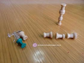 Casa de muñecas en miniatura 1//12th escala Plumero