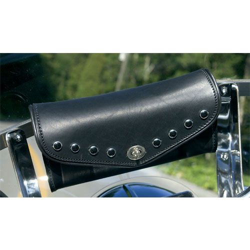 Leather Windshield Bag For Road King