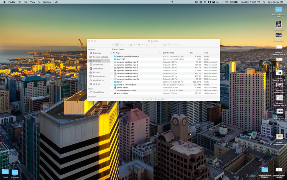 How to set up dynamic desktop on your Mac system and a