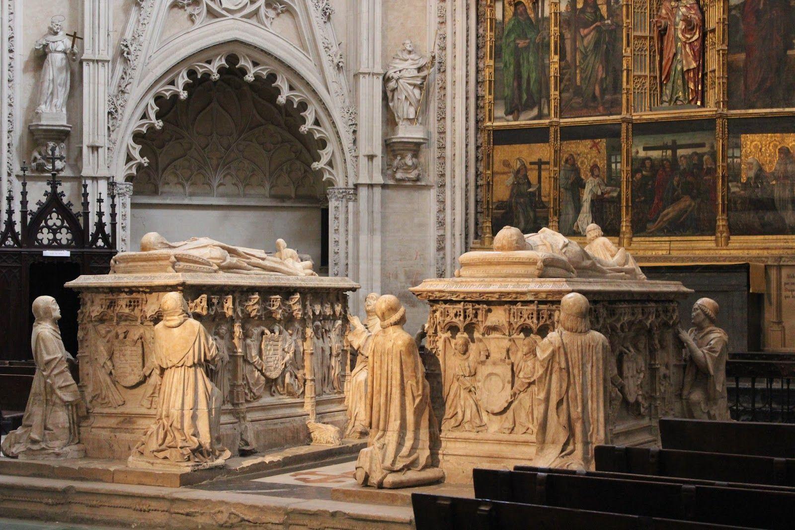 Catedral De Toledo Sepulcros De Alvaro De Luna Y Juana De Pimentel