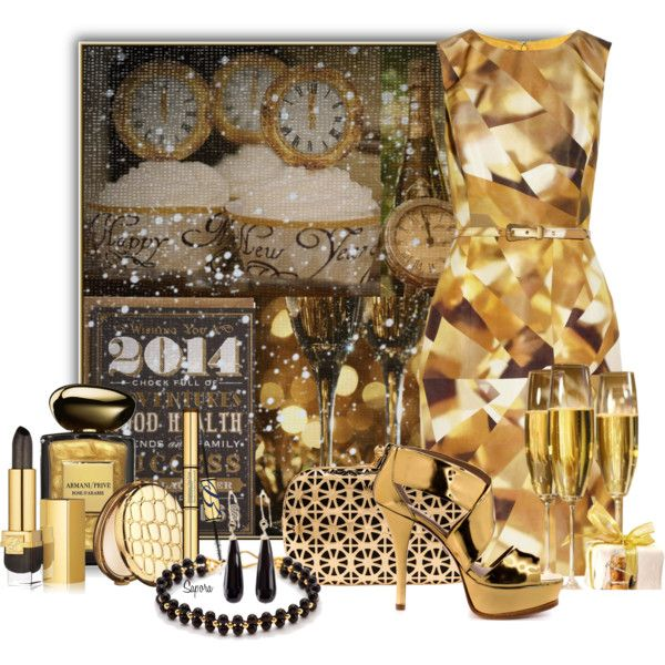 """""""Happy New Year!"""" by sapora on Polyvore"""