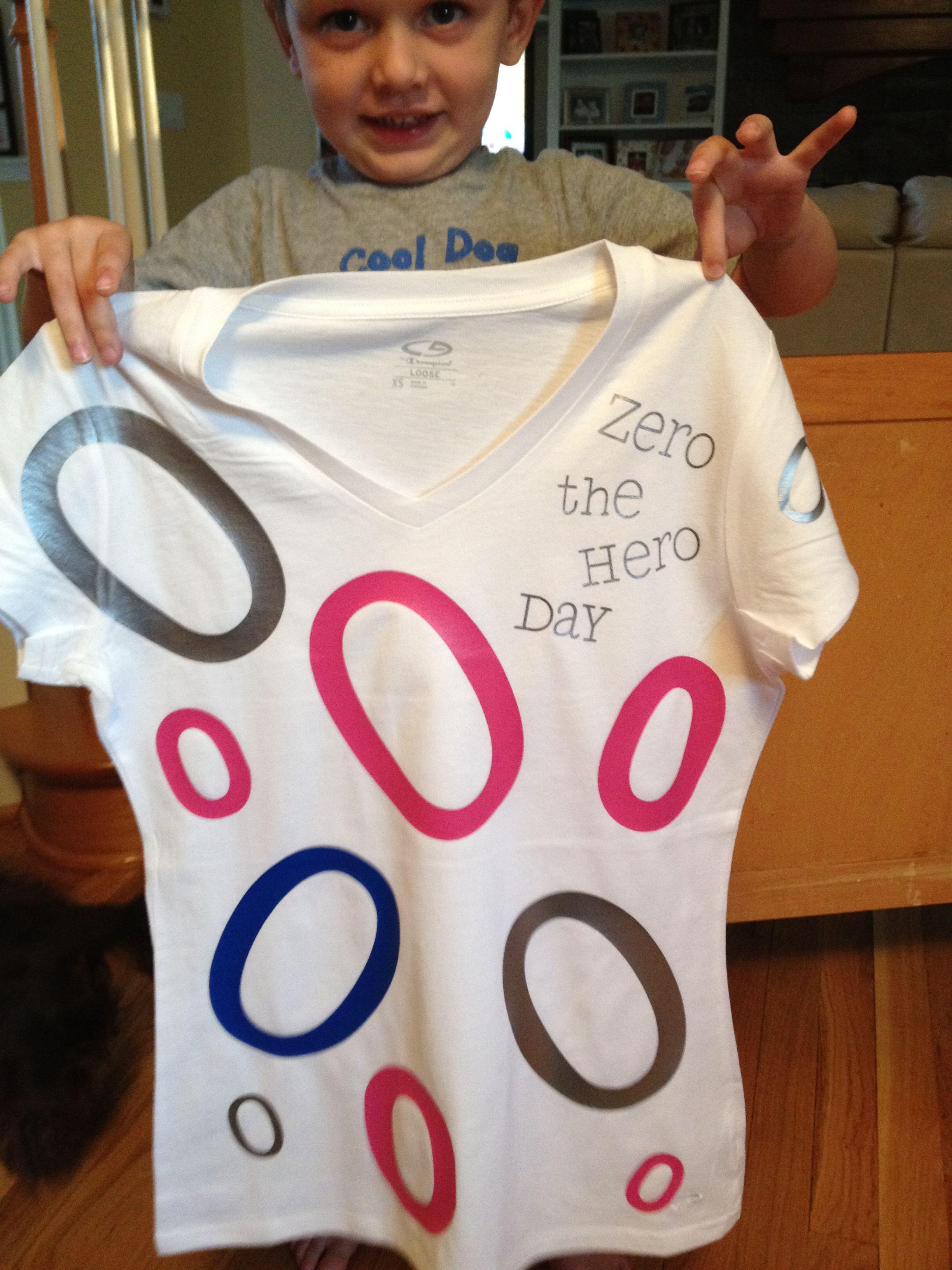 Zero The Hero Shirts For Teachers