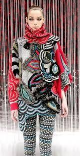 Resultado de imagen para Sharron Hedges Morpho 1984 wool yarn crocheted, knitted