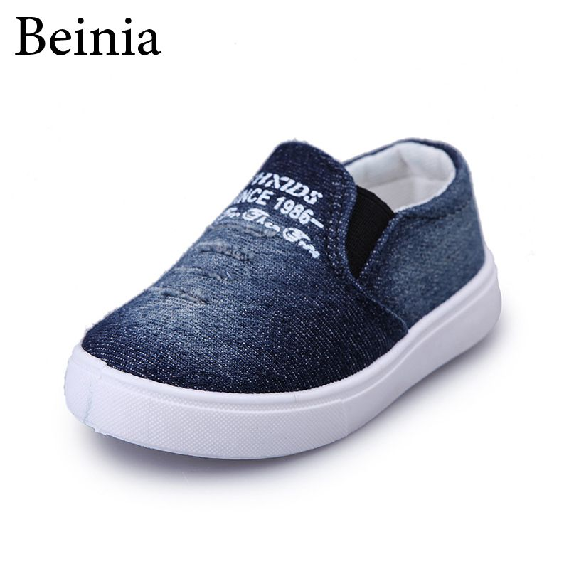 9ed8b01b08 Nice Kids Shoes Boys Girls Canvas Sneakers Children Casual Shoes Fashion Baby  Kid Flat Loafers Breathable Child School Shoes - $ - Buy it Now!