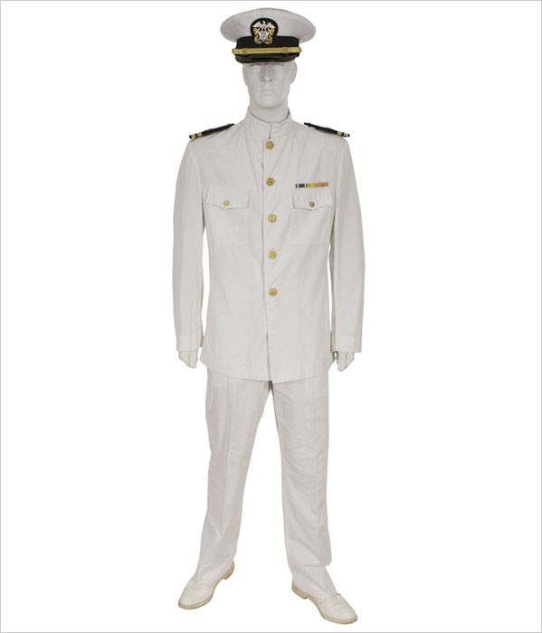 Coast guard dress white uniform enlisted auctions